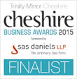 Cheshire Business Awards 2015 Finalist