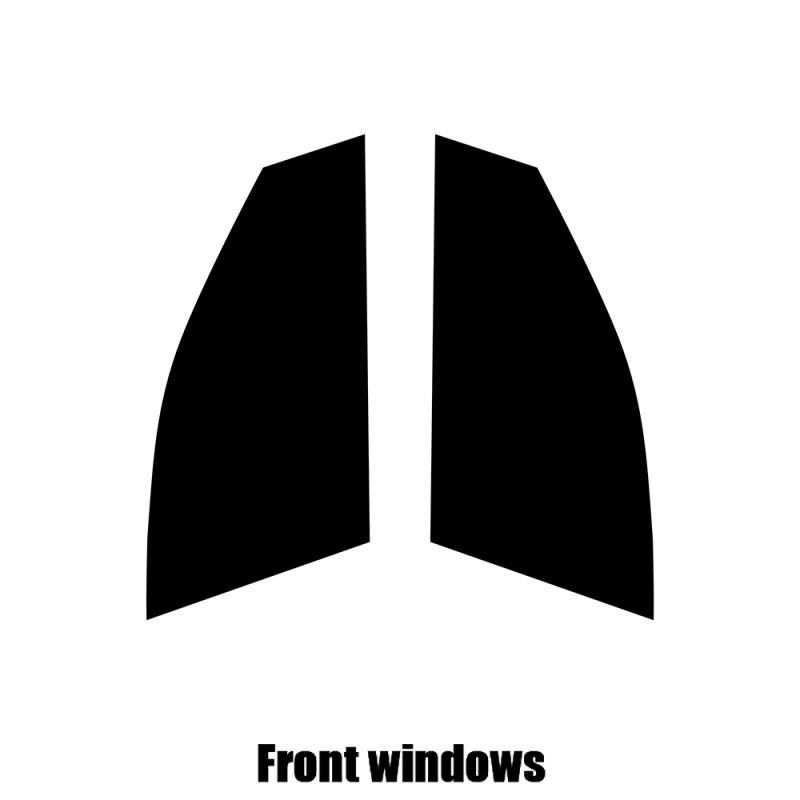 Mercedes C-Class Estate Rear windows 20/% Dark Smoke Pre cut window tint 2015 and newer