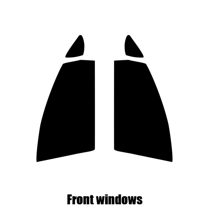 2010 to 2016 SEAT Alhambra Pre cut window tint 35/% Light Smoke Rear windows
