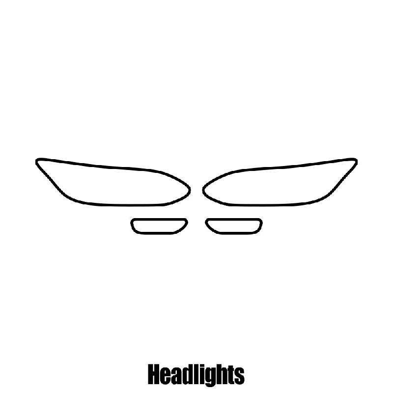 Suzuki Kizashi - 2010 to 2014 pre-cut sunstrip