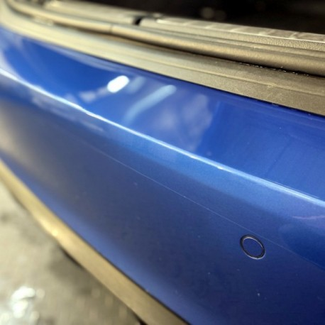 Mercedes C-Class 4-door Saloon - 2015 and newer - Rear bumper protection film