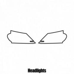 Honda Accord Estate - 2009 to 2015 - Headlight protection film