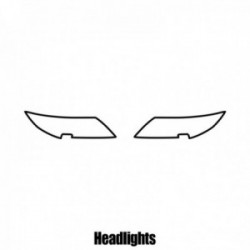 Honda CR-Z - 2010 and newer - Headlight protection film