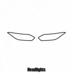 Honda HR-V - 2015 and newer - Headlight protection film