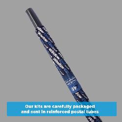 Honda Civic Hybrid - 2006 to 2011 - Rear wheel arch protection film