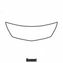 Chevrolet Malibu LS 2013 to 2013 - Bonnet protection film