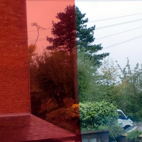 Red Car Window Film Roll (20%) - 75cm x 1m