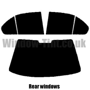 MG ZT 4-Door Pre cut window tint Front windows 2001 to 2006 70/% Ultra//Ultra Light