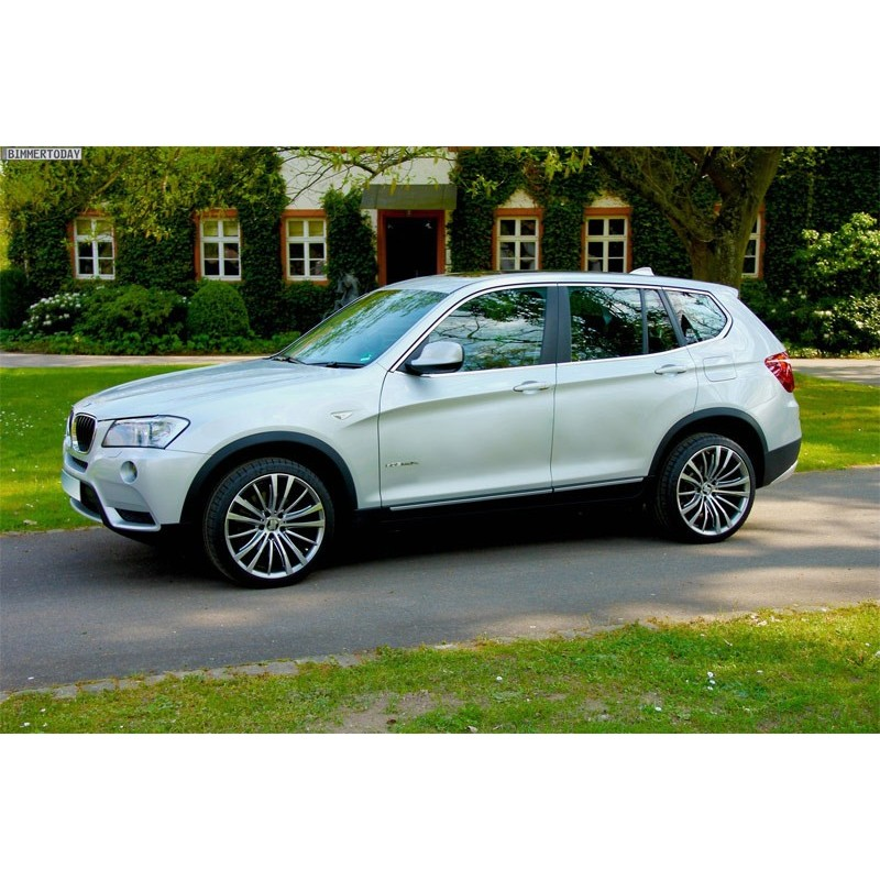 Bmw X3: 2011 To 2017 Pre-cut Car Window Tint