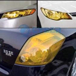 Yellow Headlight Tinting Film - 100cm x 30cm roll