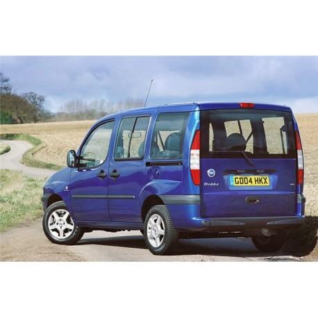 Fiat Doblo MPV (Hatchback boot) - 2000 to 2009