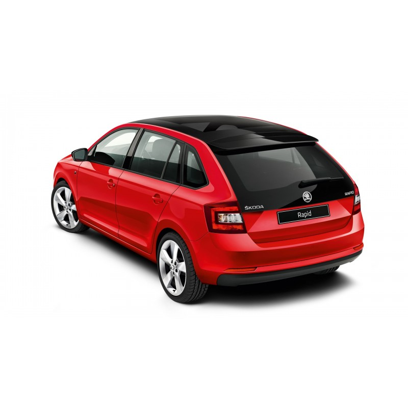 skoda rapid spaceback 2013 and newer pre cut window tint kit. Black Bedroom Furniture Sets. Home Design Ideas