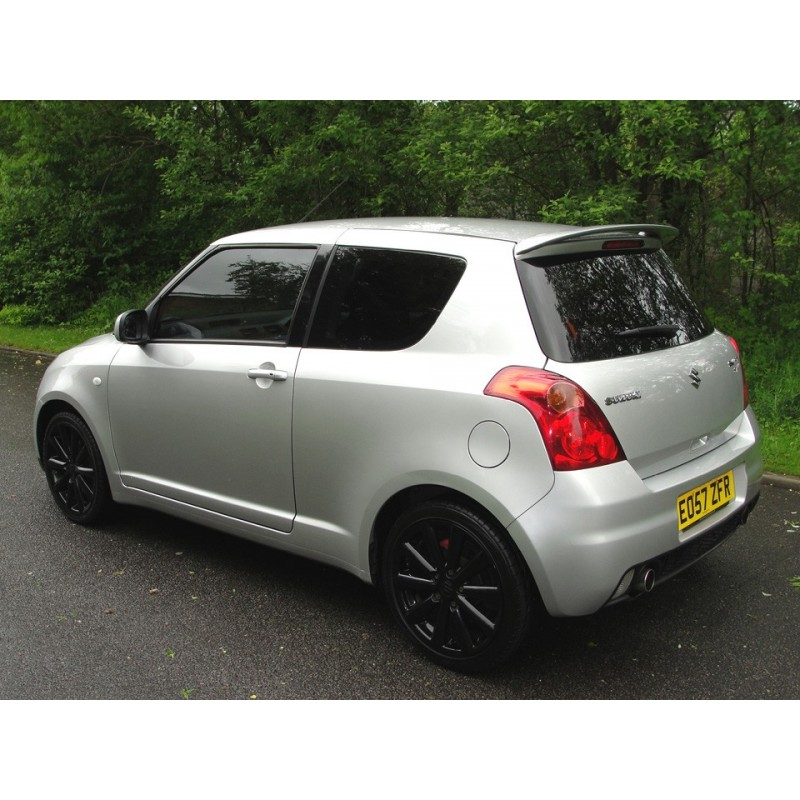 suzuki swift 3 door 2004 to 2010 pre cut window tint kit. Black Bedroom Furniture Sets. Home Design Ideas