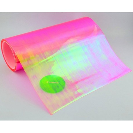 Pink Chameleon Headlight Tinting Film - 100cm x 30cm roll