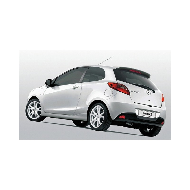 mazda 2 3 door hatchback 2008 to 2015 pre cut window tint kit. Black Bedroom Furniture Sets. Home Design Ideas