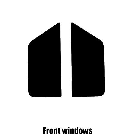 Austin Mini 1988 to 1988 pre-cut window tint