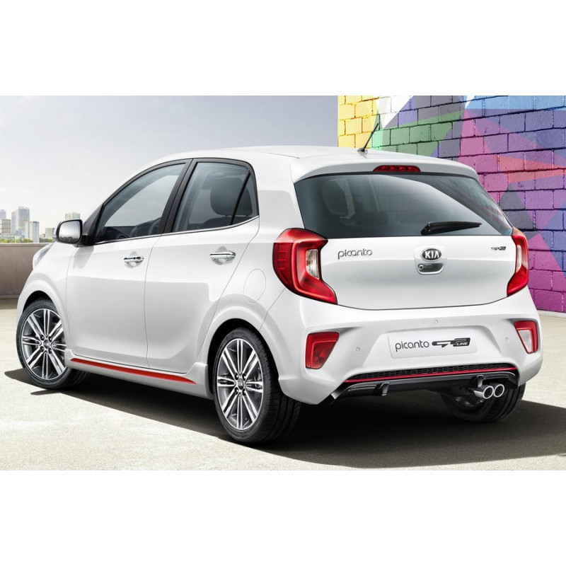 Kia Picanto 2 5 Door Hatchback: 2017 And Newer Pre Cut Window Tint Kit