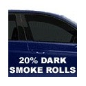 20% Dark Smoke Window Tint Rolls