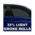 35% Light Smoke Window Tint Rolls