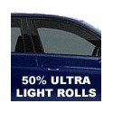 50% Ultra Light Window Tint Rolls