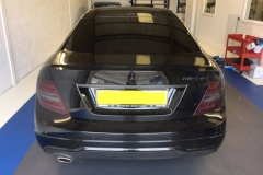 Mercedes C-Class rear light tints