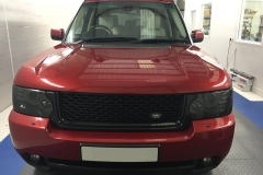 Range Rover front headlight tints