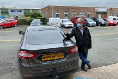 Ford Mondeo tinted in 5%