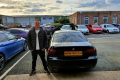 BMW 3-Series Coupe 20% tint and front/back light tints