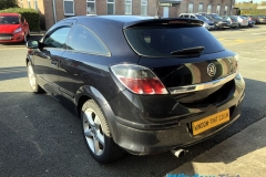 Vauxhall Astra tinted in 20% dark smoke