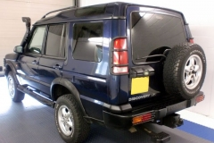 Land Rover Discovery tinted in 5% limo tint
