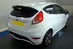 Ford Fiesta ST tinted in 5% limo tint
