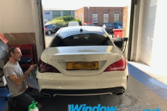 Mercdes CLA rear taillight tint
