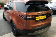 Land Rover Discovery tinted in 20% dark smoke