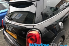 Mini Cooper tinted in 20% dark smoke