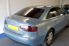 Audi A4 20% dark smoke window tint