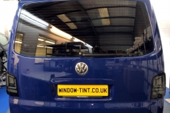 VW Transporter T4 tinted in 5% limo tint