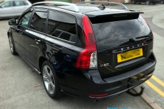 Volvo V50 tinted in 5% limo tint