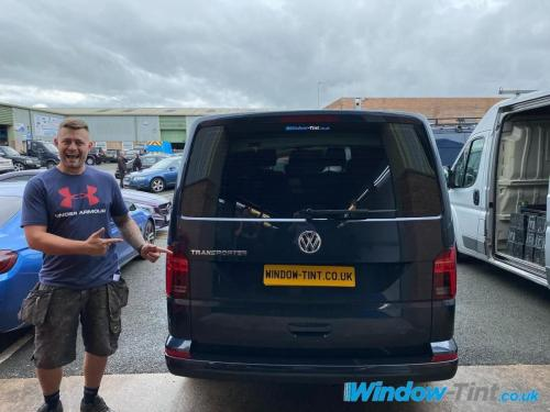 VW Transporter tinted for another happy customer
