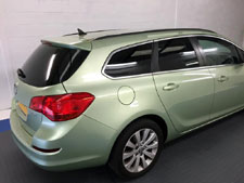 Window Tint on Vauxhall Astra Estate
