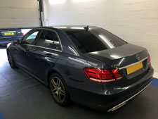 Window Tint on Mercedes E-Class