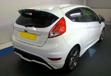 Window Tint on Ford Fiesta
