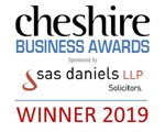 Cheshire Business Awards 2019 - Winners