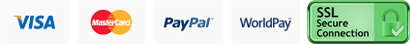 Pay Using PayPal or WorldPay